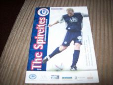 Chesterfield v Tranmere Rovers, 2002/03